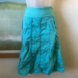 Dresses & Skirts - Beautiful XCVI Skirt Fold-over Cotton Small